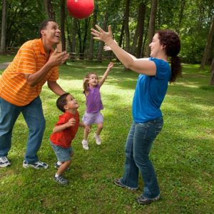 Staying active and fit with kids!